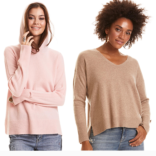 Cozy in Cashmere!