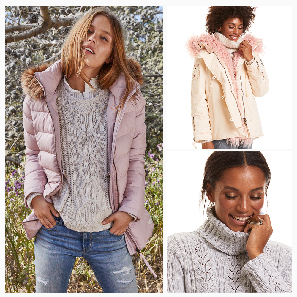 Warm layer for a stylish fall!