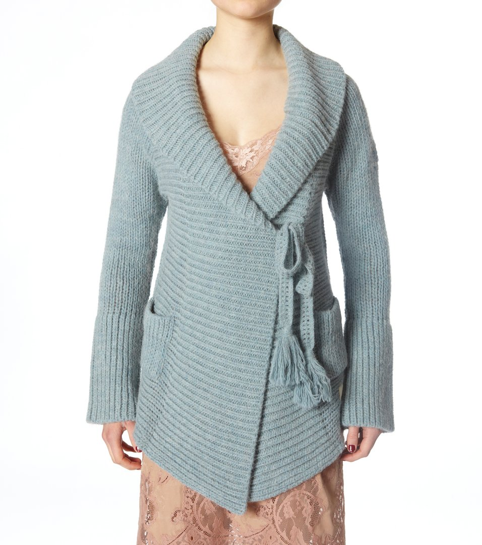 45f761463a06 Odd Molly - wool mix long cardigan - LITE INDIGO