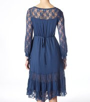 Odd Molly - easy round dress - INDIGO
