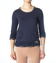 Odd Molly - le fleece sweater - MID INDIGO