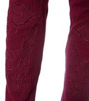 Odd Molly - drop needle basic tights - DARK MAGNOLIA