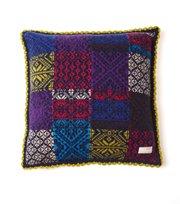 Odd Molly - patchwork pillow case - MID INDIGO