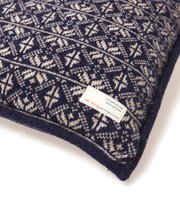 Odd Molly - lovely knit pillowcase - MID INDIGO