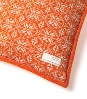Odd Molly - lovely knit pillowcase - ORANGE