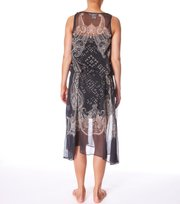Odd Molly - mystery date sleeveless dress - ASPHALT