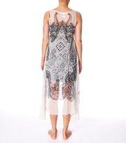 Odd Molly - mystery date sleeveless dress - VINTAGE CHALK