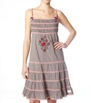 Odd Molly - wunderwear strap dress - GREY
