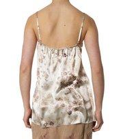 Odd Molly - a-one silk camisole sh printed - WINTER WHITE