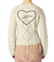 Odd Molly - kitzbuhel knit cardigan - WINTER WHITE