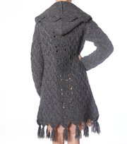 Odd Molly - cortina knit cardigan - MID GREY MEL