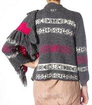 Odd Molly - vail knit wrap - MID GREY MEL
