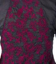 Odd Molly - rosanella 3/4 top - ALMOST BLACK