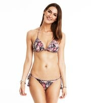 Odd Molly - Nudieful Bikini mit Aufdruck - ALMOST BLACK