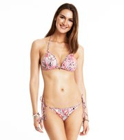 Odd Molly - nudieful print bikini - STRONG PINK