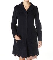 Odd Molly - miss melton coat - DARK INDIGO