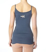 Odd Molly - peace-is-not-a-word tank - BLUE