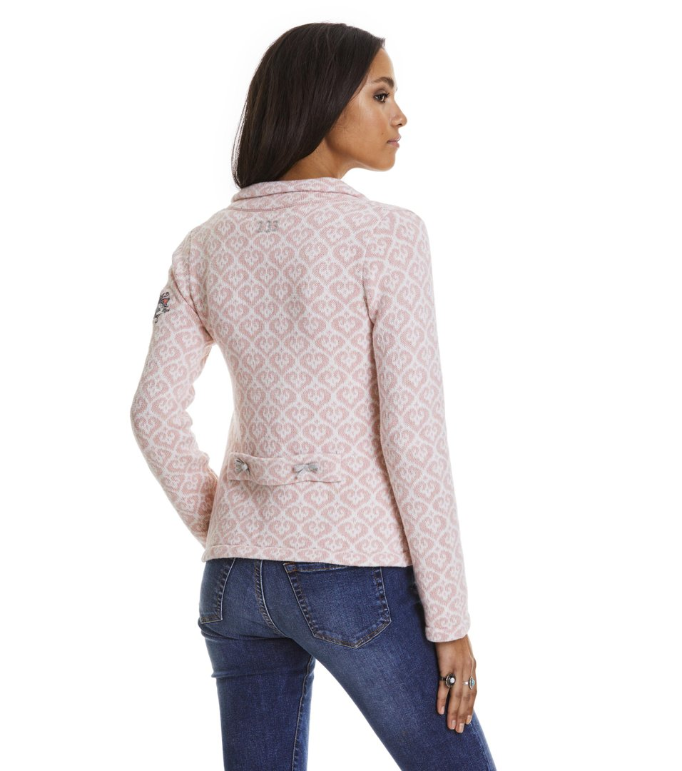 odd molly lovely knit jacket milky pink