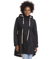 Odd Molly - monsoon rainjacket - ALMOST BLACK