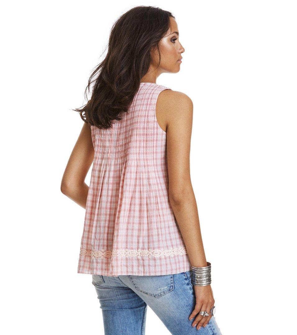 259ea38a Odd Molly - fin-tastic sleeveless blouse - LIGHT CORAL