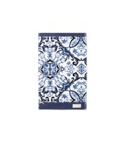 Odd Molly - boho butterfly guest towel - DARK BLUE