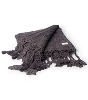 Odd Molly - cozy throw - BLACK LAVA