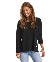 Odd Molly - wide away sweater - ALMOST BLACK