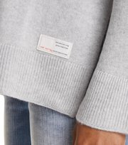 Odd Molly - wide away sweater - LIGHT GREY MELANGE