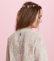 Odd Molly - white bohemish blouse - LIGHT PORCELAIN