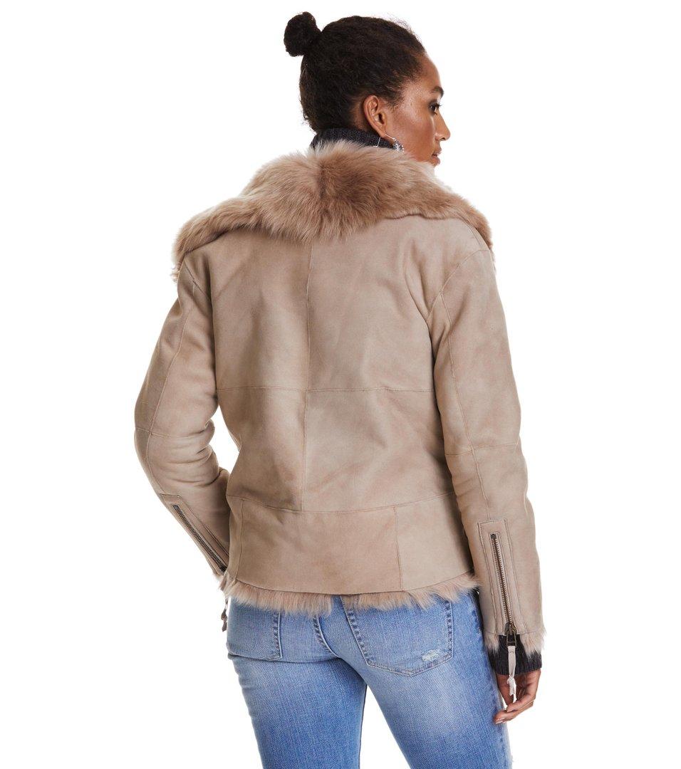 rhythm shearling jacket Odd Molly JiHWkk