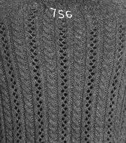 Odd Molly - ballroom sweater - ALMOST BLACK