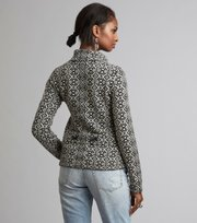 Odd Molly - lovely knit jacket - ALMOST BLACK