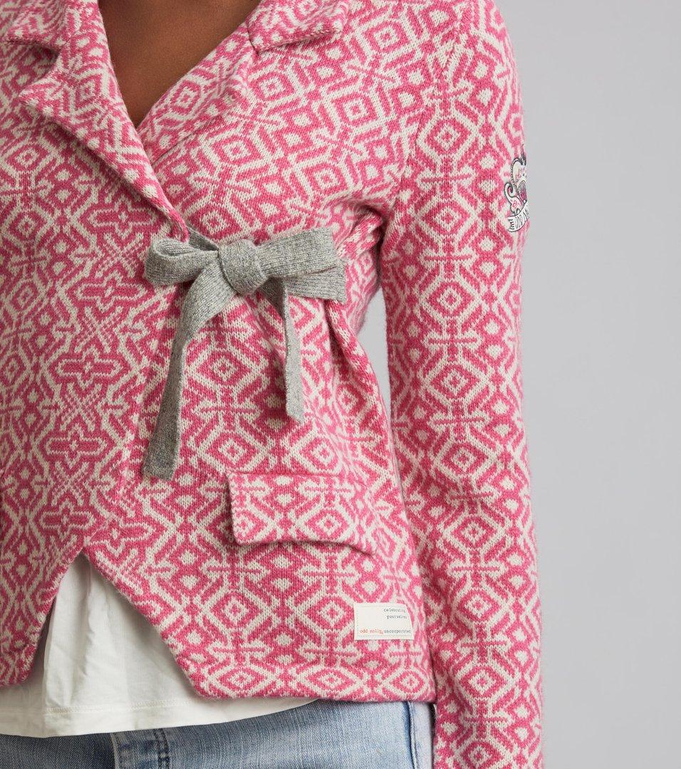 e222ca1beccd36 Odd Molly - lovely knit jacket - BRIGHT ROSE