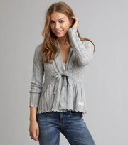 Odd Molly - top-drawer cardigan - LIGHT GREY MELANGE
