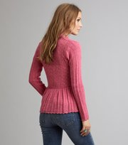 Odd Molly - top-drawer cardigan - BRIGHT ROSE