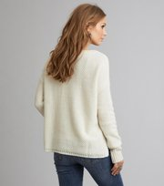 Odd Molly - improvise pullover - LIGHT CHALK
