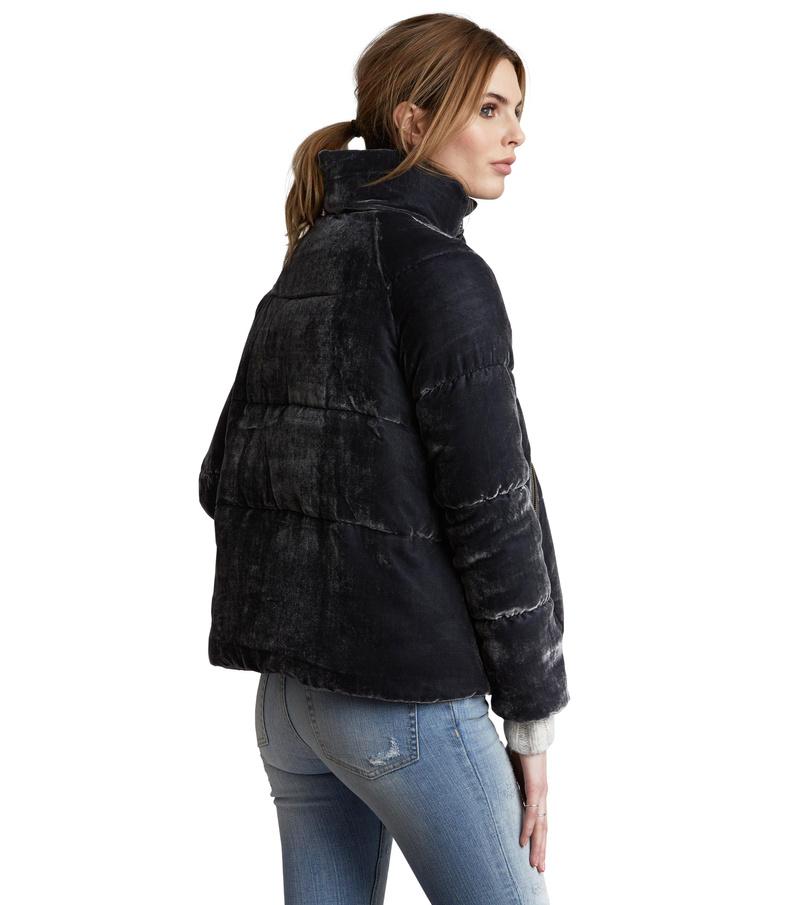 embrace velvet jacket