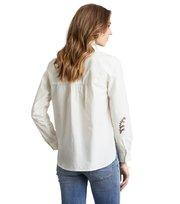 Odd Molly - horse whisper shirt - LIGHT CHALK