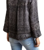 Odd Molly - warm hearted l/s blouse - ALMOST BLACK