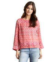 Odd Molly - warm hearted l/s blouse - RASPBERRY