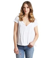 Odd Molly - jersey girl s/s top - BRIGHT WHITE
