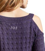 Odd Molly - kniterie sweater - PURPLE VELVET