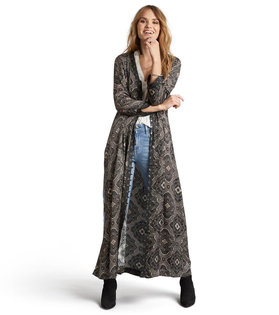 free floating long dress
