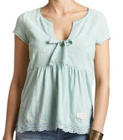 Odd Molly - lets love s/s top - MISTY GREEN