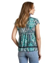 Odd Molly - beauty call blouse - GREEN MIST