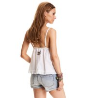Odd Molly - beauty call tanktop - BRIGHT WHITE