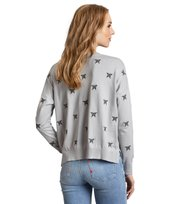 Odd Molly - happyness sweater - LIGHT GREY