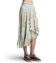 Odd Molly - delicate skirt - SHADOW GREEN