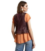 Uptown Leather Vest