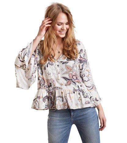 the gardener l/s blouse